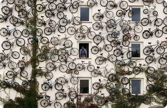 bicycles via oh, hello friend
