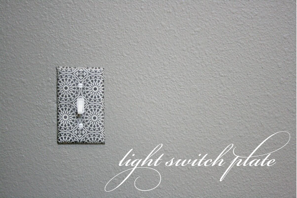 decoupage light switch plates {tutorial} | Jones Design Company on light switch and outlet covers, light switch and receptacle covers, electrical plug and switch covers,