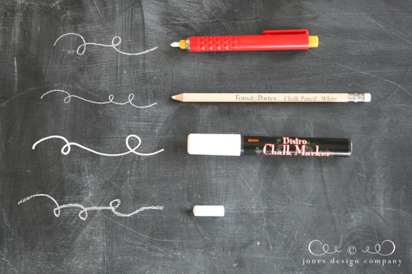4 Great Options For Writing On A Chalkboard