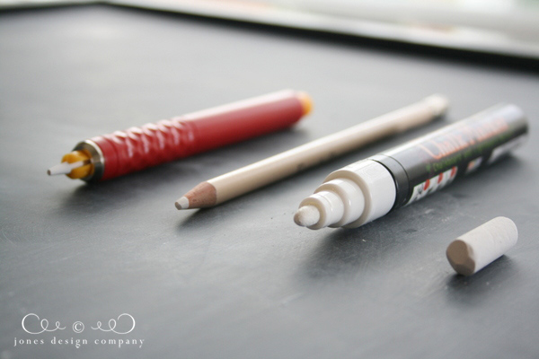 4 chalk pen and pencil options