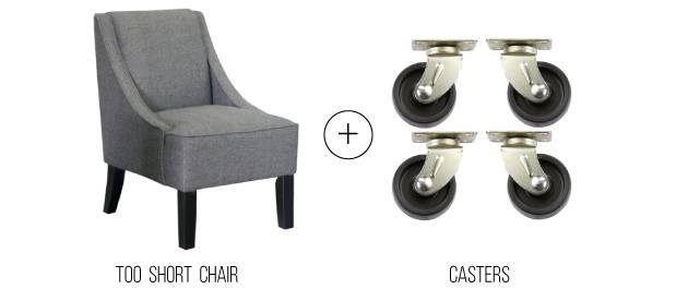 Perfect chair casters