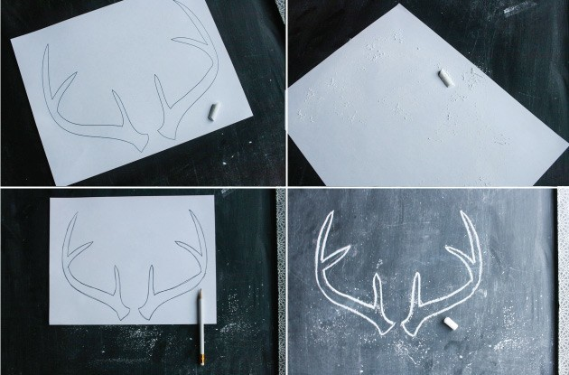 antler-chalk-art