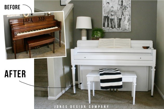 how to paint a piano jones design company