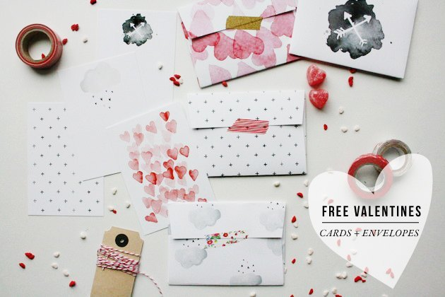 valentines + envelopes