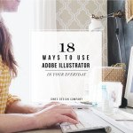 18 ways to use Adobe Illustrator in your everyday / jones design company