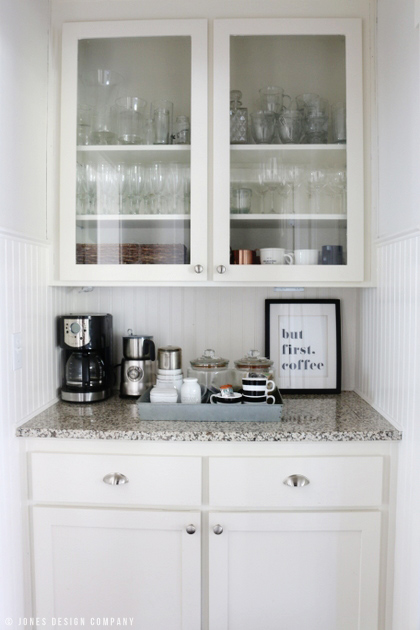 coffee station / fall home tour / jones design company