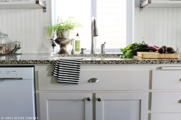 kitchen sink / fall home tour / jones design company