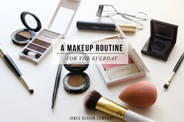 A Makeup Routine for the everyday / jones design company