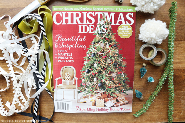 Look What Made It Into The Pages Of Bhg Christmas Ideas Magazine