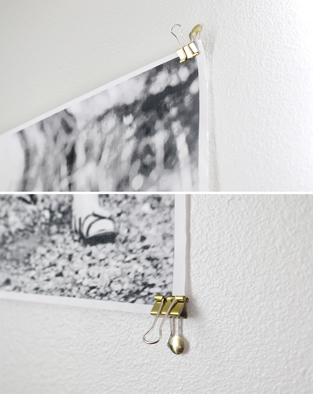 The Easiest Way To Hang A Big Photo As Seen In Audrey 39 S