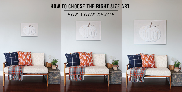 How to Choose Art That Is The Right Size For Your Space | Jones ...