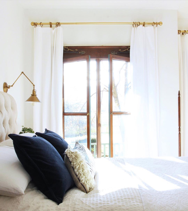 The Best White Curtains Hint They Are Long And Inexpensive Jones Design Co