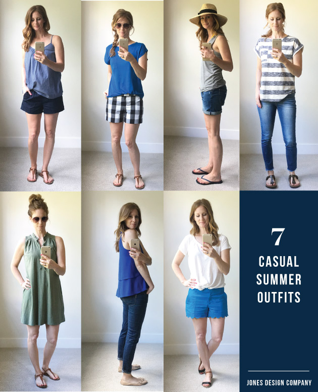 d49f1a38729 Seven favorite outfits for the summer